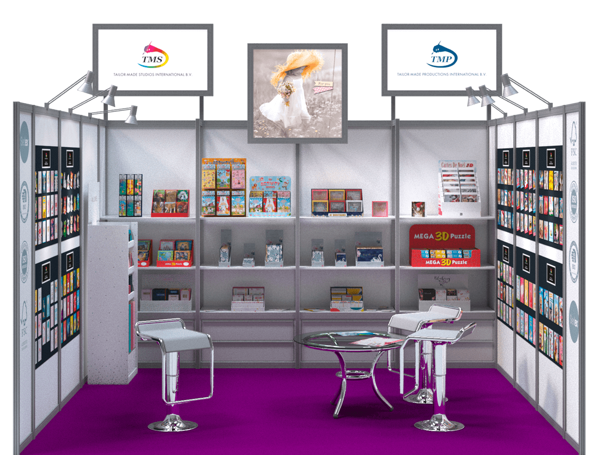 Canton Fair 2020 TMS / TMP booth